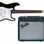 Guitarra Electrica Fender + Amplificador Fender