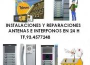 PORTEROS ELECTÓNICOS Y ANTENAS REPARACIONES E INSTALACIONES  te,93.4577248
