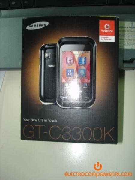 Telefono móvil samsung gt c3300k nuevo a estrenar con sus accesorios vodafone
