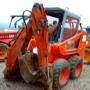 Mini Excavadora con Retro para reparar  el motor,