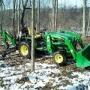 Tractor John Deere CARGADOR DE PALA - JOHN DEERE 4115