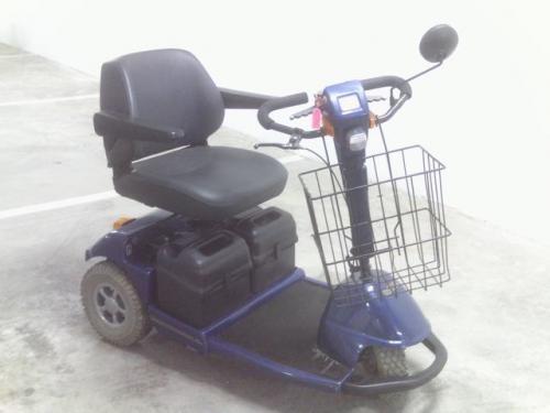 Fotos de Moto sccoter para personas con movilidad reducida 1