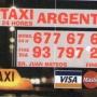 TAXI ARGENTONA Telf 677 676 289