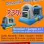 ¡¡¡¡ GRAN OPORTUNIDAD !!!!! VENDO CASTILLO HINCHABLE