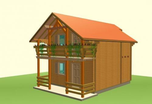 Casas de madera www.ecoandeco.com