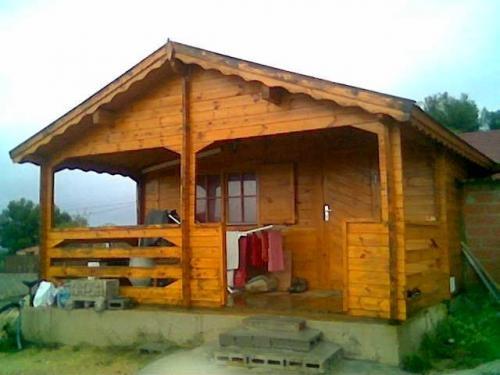 Casa de madera segundamano