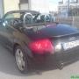 coche AUDI TT , 1800T descapotable negro