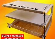 Mesa informatica para Impresora, Escanner, desmontable