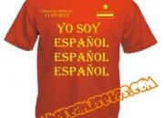 Camisetas españa yo soy español, español, español