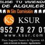 Grupo Ksur Viviendas de Alquiler Sín Comisión. ¡Muy buenos precios!