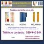 Taquillas de vestuario económicas (entrega en toda España).