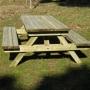 Mesa de picnic Greenwood