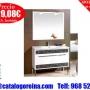 Super_Precios.Conjunto SONIA 100 Blanco/Fondo Negro