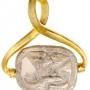 Colgante con amuleto egipcio