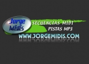 Secuencias midi y pistas mp3