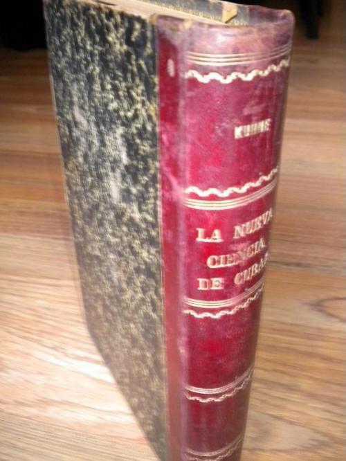 Fotos de La nueva ciencia de curar del dr. louis kuhne, edic. 1894 2