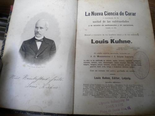 Fotos de La nueva ciencia de curar del dr. louis kuhne, edic. 1894 3