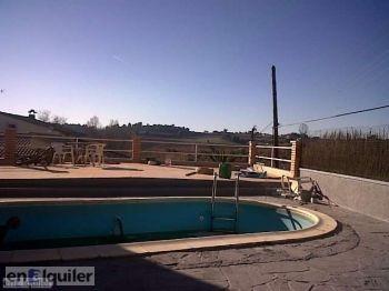 Casa con piscina en piera