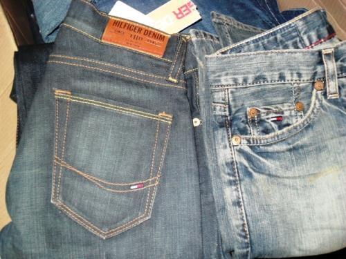 Vendo stock de pantalones tommy hilfiger, replay, energie