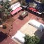 Terraza de anita apartamento de alquiler por días en la ruta Gaudi tel:690192027