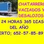 CHATARRER0 GRATIS Y VACIADOS DE PISOS