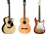 Clases guitarra electrica, acustica y española en Malaga