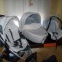 vemdo carro de bebe confort completo
