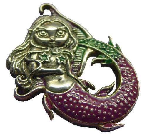 Amuleto sirena mágica: la magia del fondo del mar