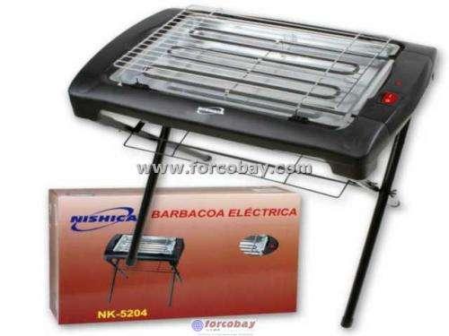 Barbacoa grill electrica con patas nueva