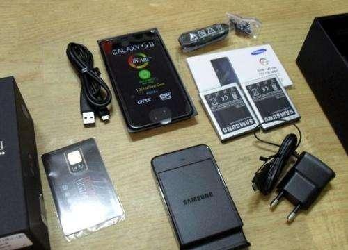 Samsung galaxy s2 190 euros negociable
