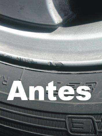 Reparar de llantas ruedas de aleación