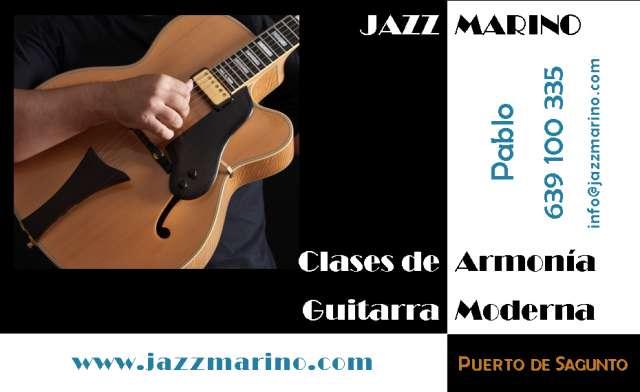 Clases a domicilio de guitarra, armonía y jazz - sagunto y alrededores