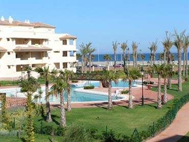 1ª linea playa residencial lujo villa romana a 300m campo de golf