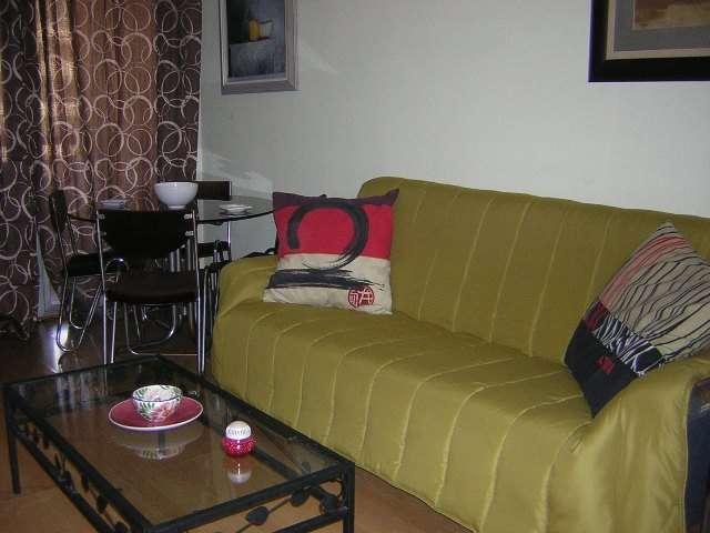 Apartamento amueblado 1 dorm z. bachiller