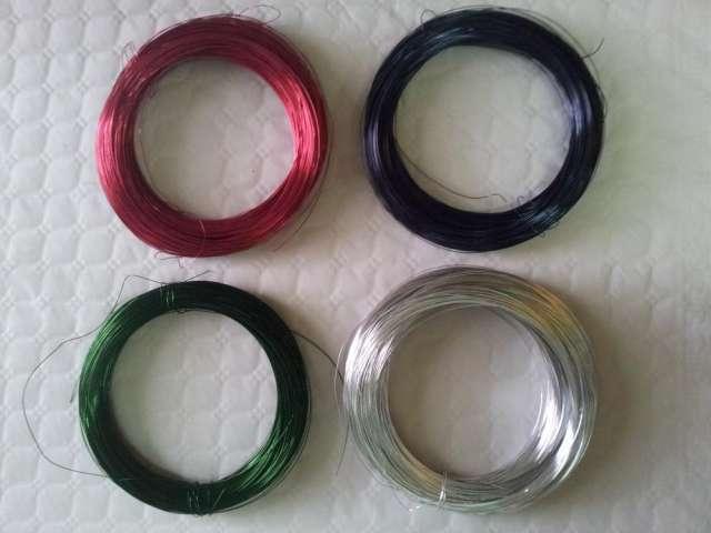 Venta de alambre de aluminio en colores