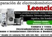Reparaciones de electrodomesticos leoncio