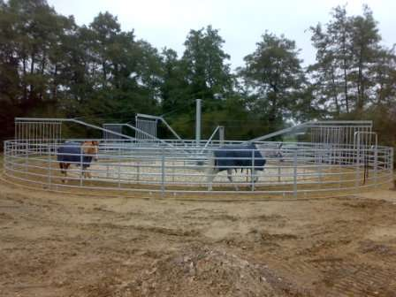 Fotos de Vallados para caminadores de caballos, equitrainer. 7