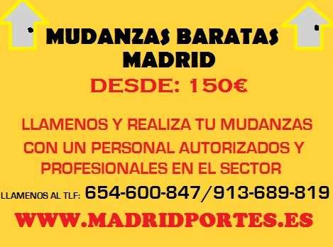 Empresas economicas 654/60(084)7de mudazas en madrid