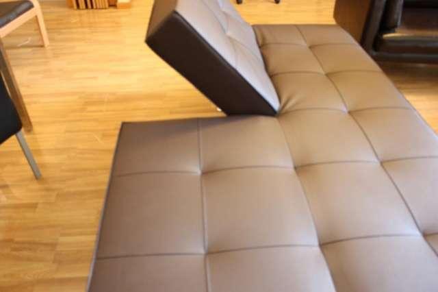 Vendo sofá cama de diseño nuevo a estrenar