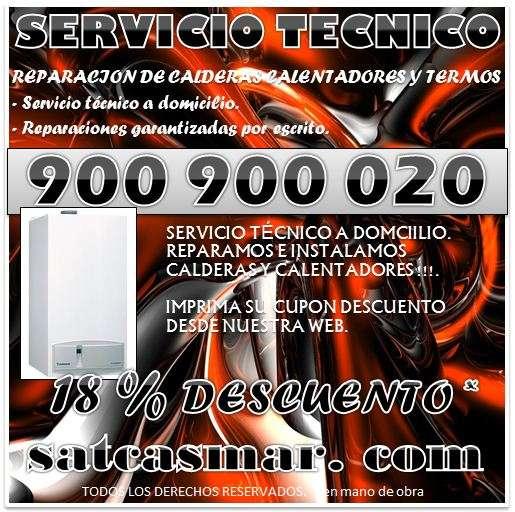 Servicio tecnico junkers.. reparacion calderas y calentadores 900-901-075 sat