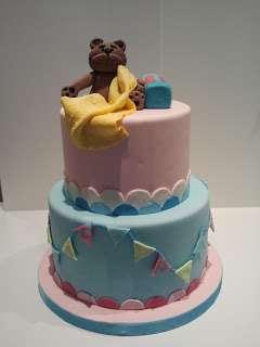 Cupcakes y tartas decoradas personalizadas de fondant