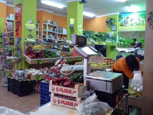Se trapasa fruteria, alimentacion, carniceria