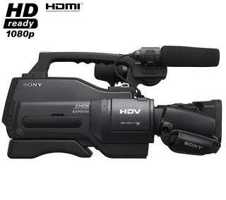 Alquiler cámaras de vídeo hd en madrid y barcelona desde 75 euros/día