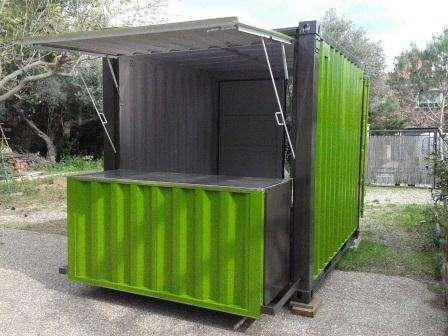 Kiosco chiringuito adaptado para bar, helados, churreria 3 mts. x 2,5 mts.