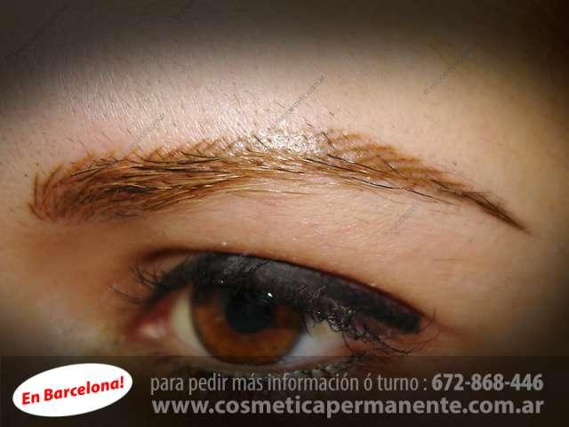 Micropigmentacion de cejas pelo x pelo. barcelona