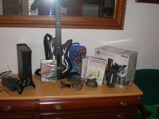 Xbox 360 elite de 120 gigas en perfecto estado oferton