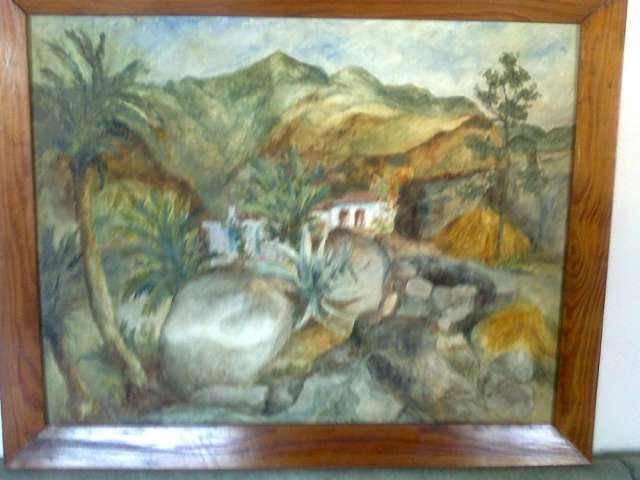 Venta cuadro de 89x70 cms pintura al oleo