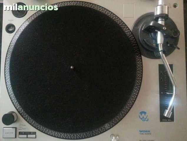 Vendo tocadiscos work dj tw-500b y mesa phonic dm 2010