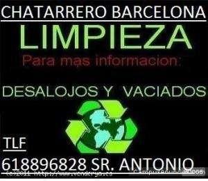 Vaciado de pisos en barcelona tl 618896828