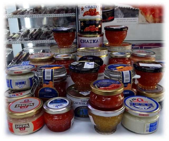 Venta de caviar en barcelona tienda rusa teremok